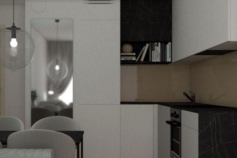 Kuchnia, salon 18m2 - Kleosin