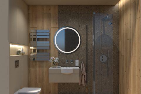 Łazienka dla gości 3,5m2